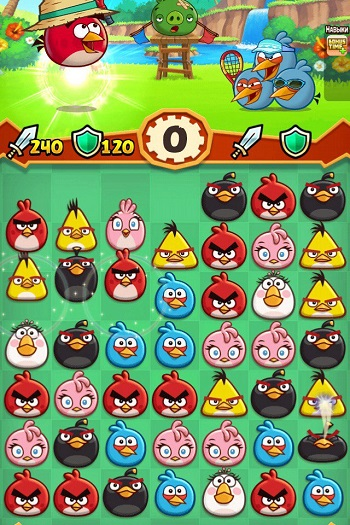 Angry Birds Fight! на iOS