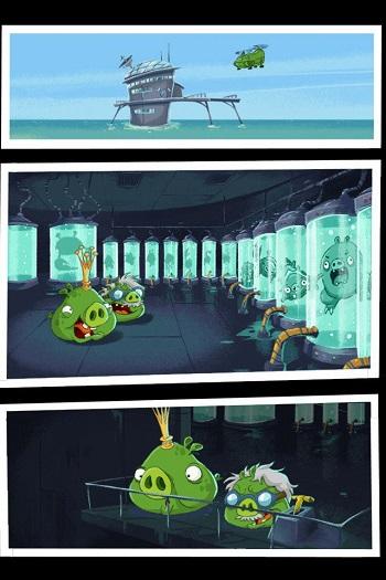 Angry Birds Fight! на iOS
