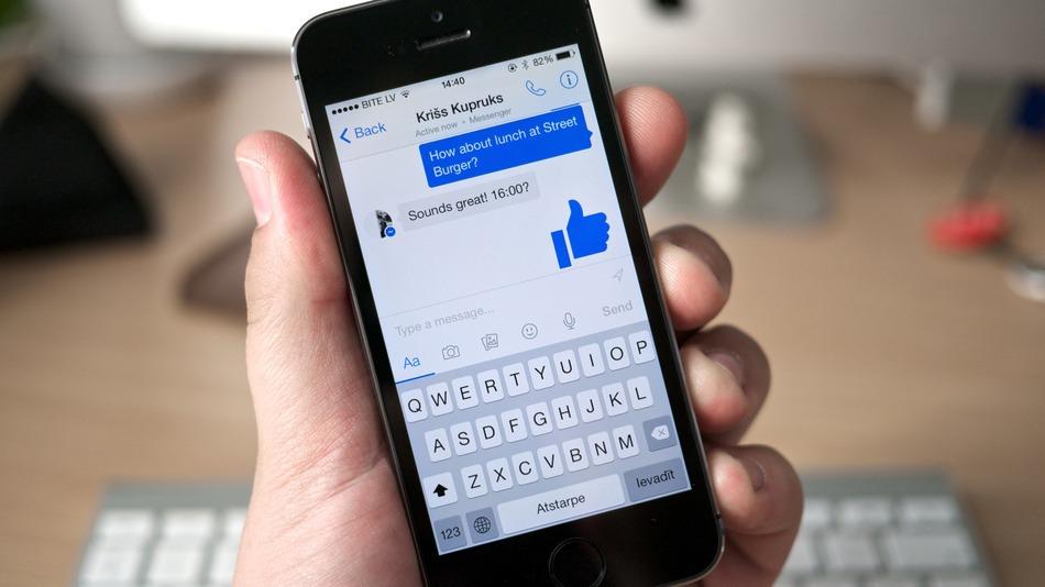 Приложение Фейсбук на айфон