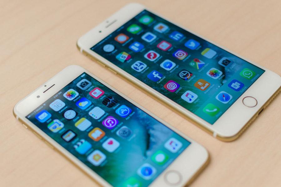 Размеры экранов iPhone 7, 7 Plus
