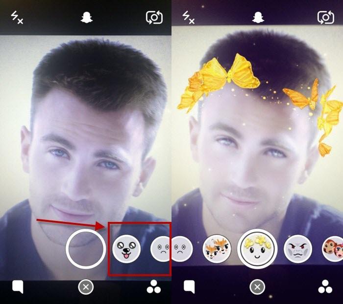 Как снять фото/видео с желтыми бабочками над головой