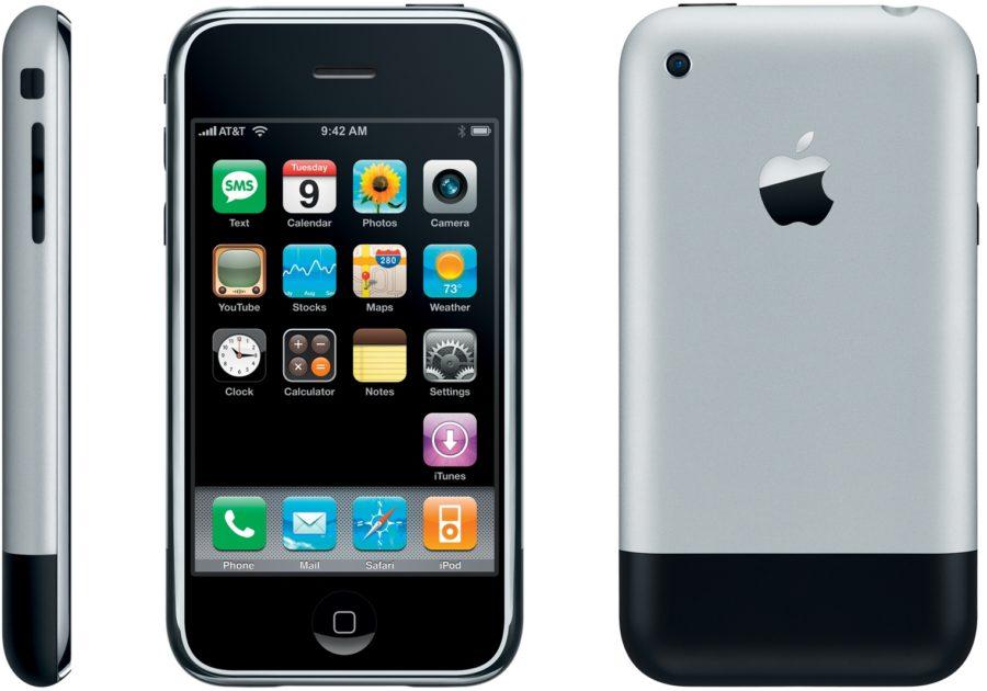 Год выпуска первого айфона