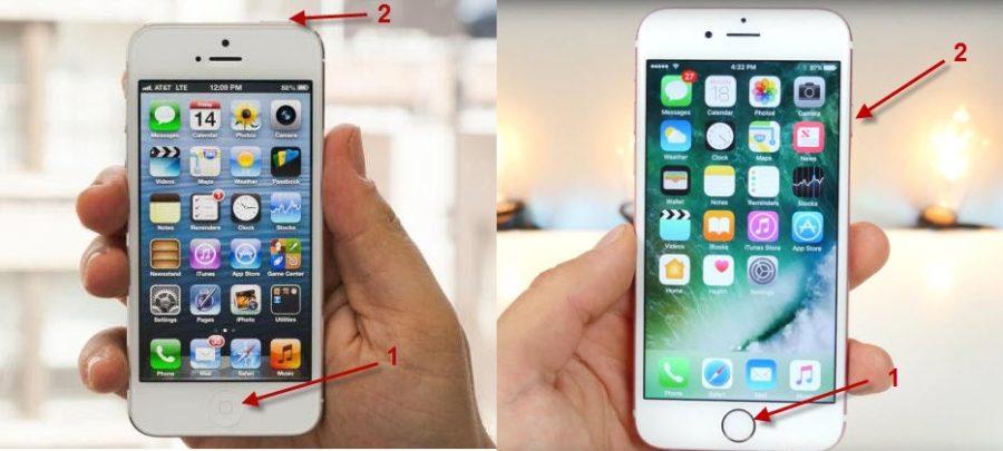 Как сделать скрин экрана на iPhone