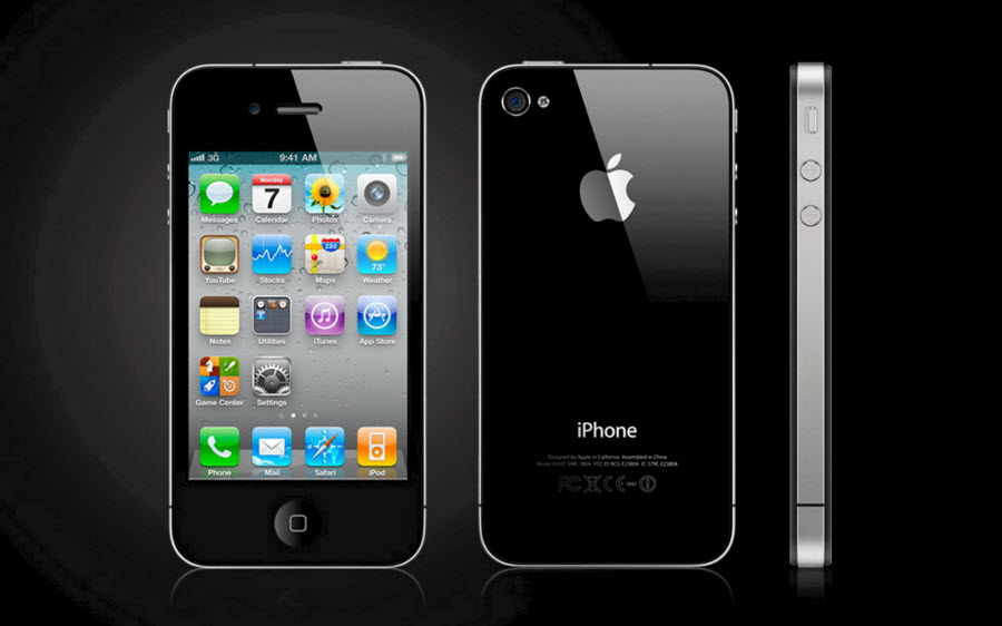 Разрешение экрана у iPhone 4, 4S