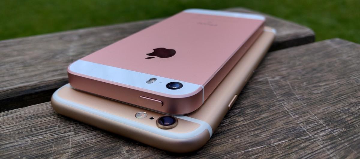 Чем отличается айфон 6 от SE