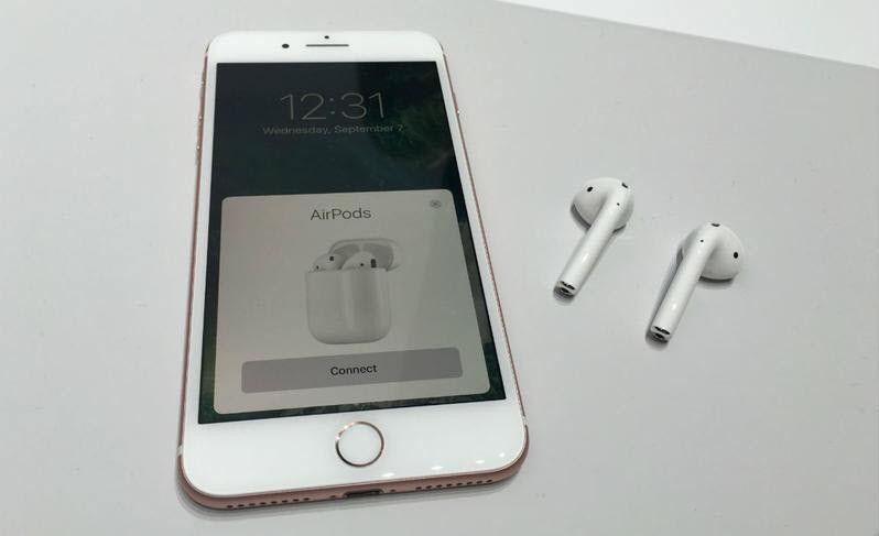iPhone 7, есть ли разъём для наушников?