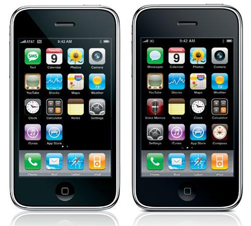 Дата выхода iPhone 3, 3GS