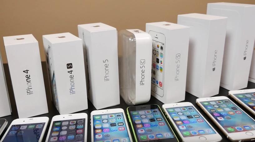 В каком году вышли айфоны