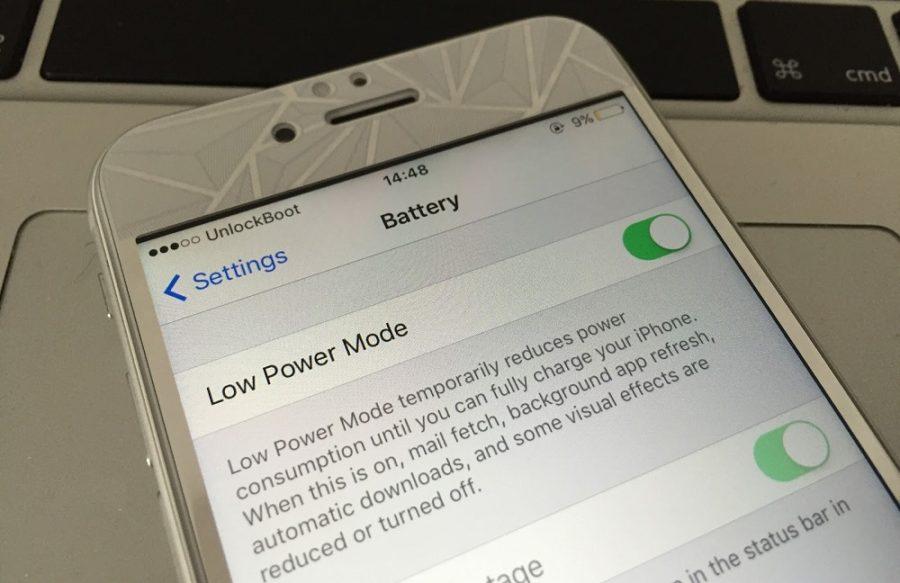 Есть ли режим энергосбережения на айфоне 4 и 4S