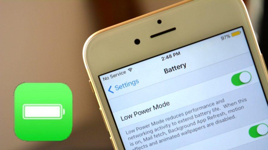 Как включить/отключить режим энергосбережения на iPhone