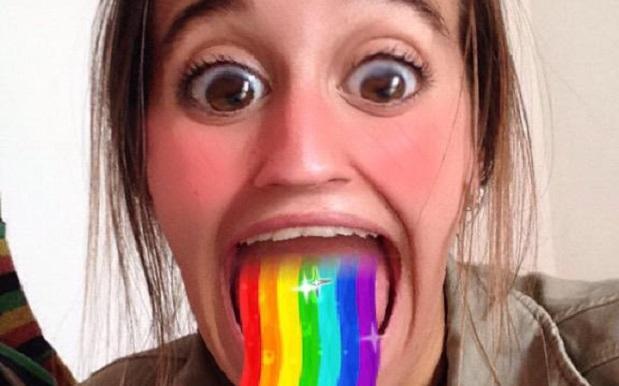 Как называется программа, где радуга изо рта?