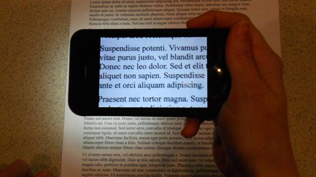 Как пользоваться лупой на айфоне