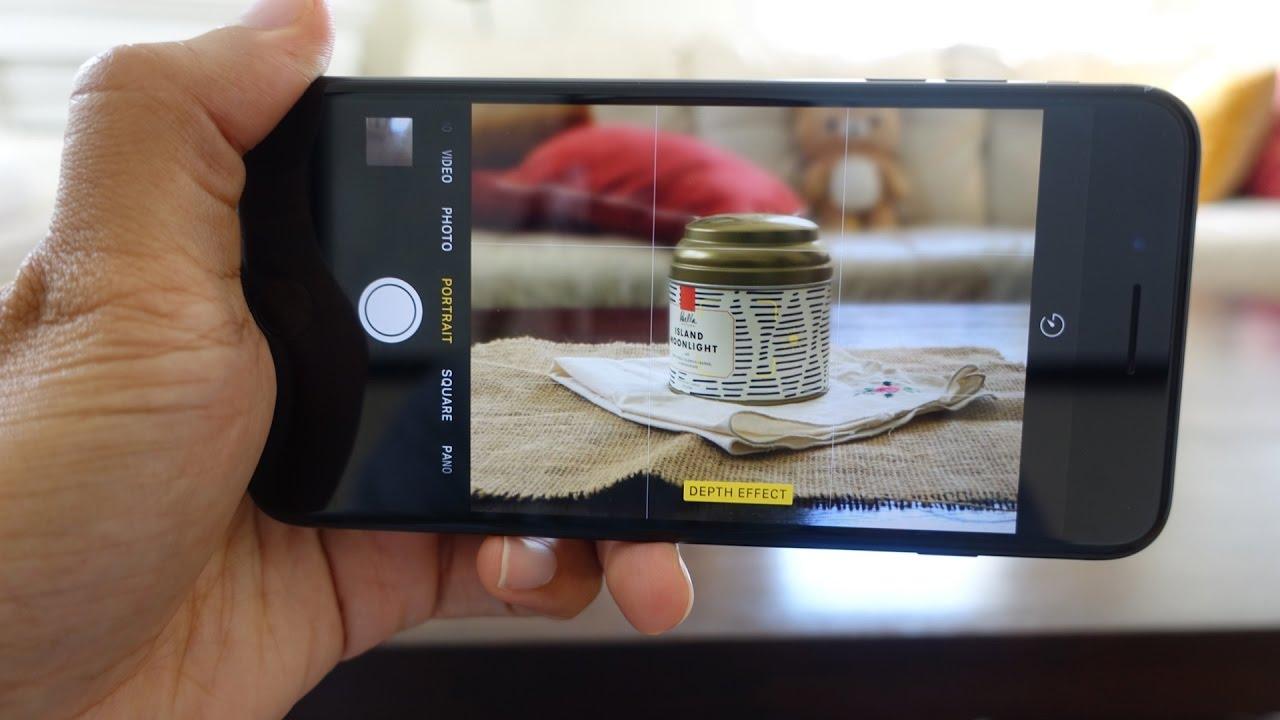 Как сделать эффект глубиныбоке на айфоне 7 ПЛЮС
