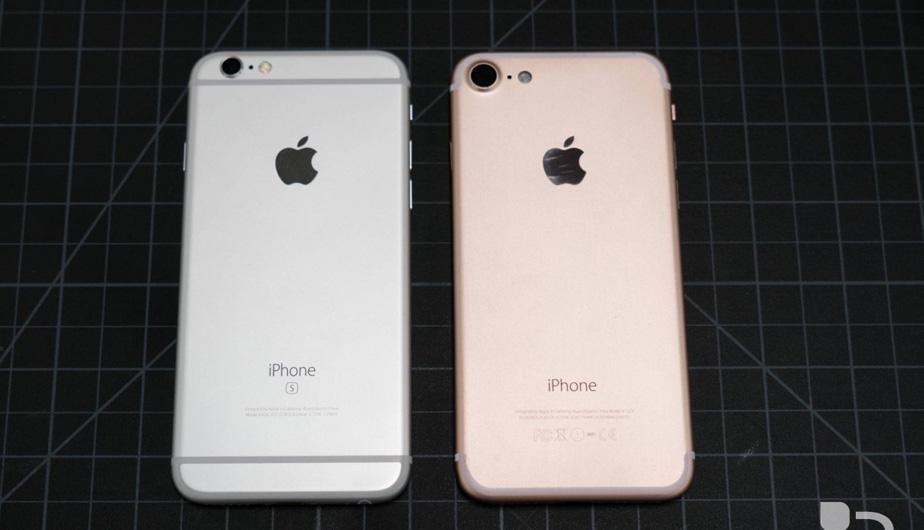 Разница айфон 7 и айфон 6S