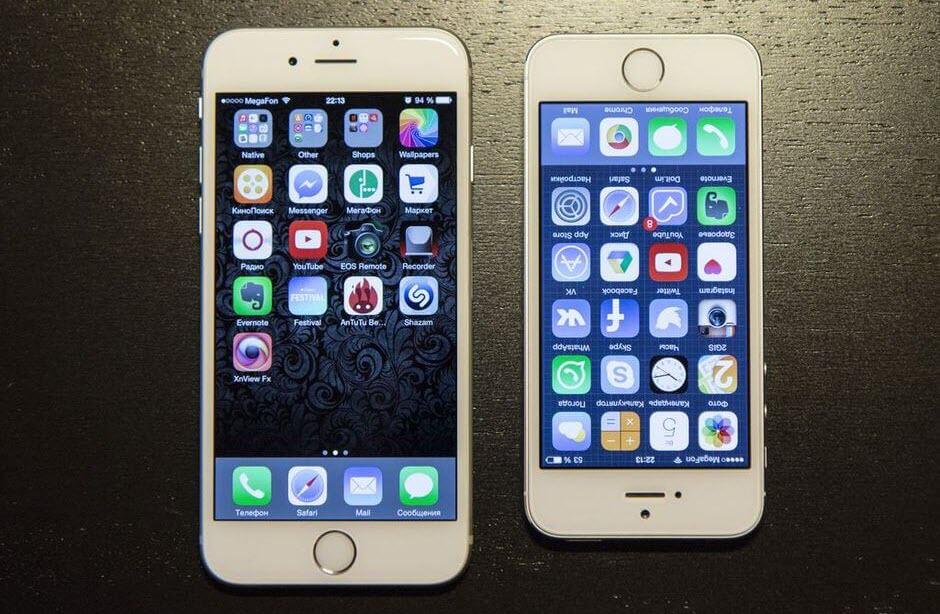 Чем отличается айфон 5S от айфона 6S?
