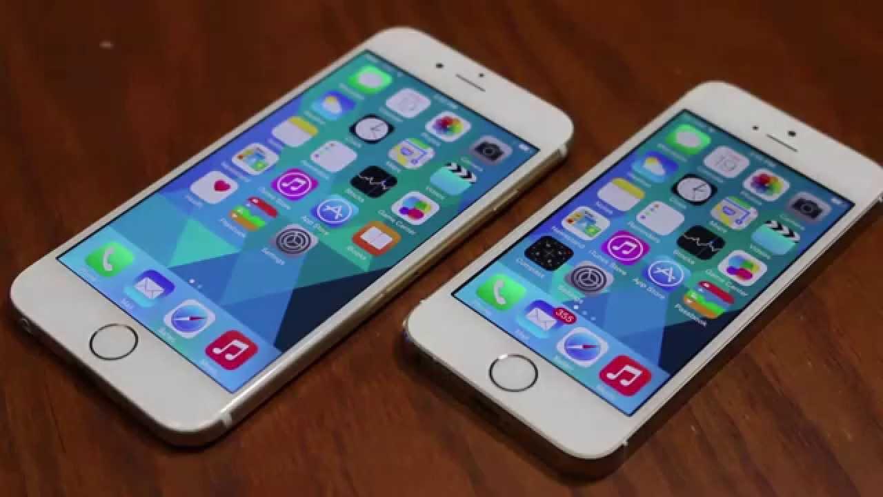 Чем отличается айфон 5S от 6