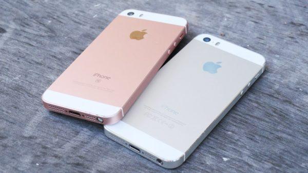 Чем отличается iPhone 5S от iPhone SE?