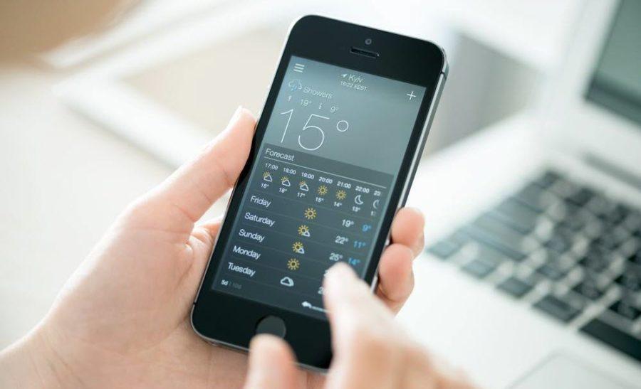 Что означают значки погоды в айфоне