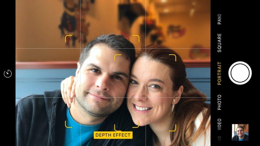 Что такое эффект глубины/боке на айфоне 7 PLUS