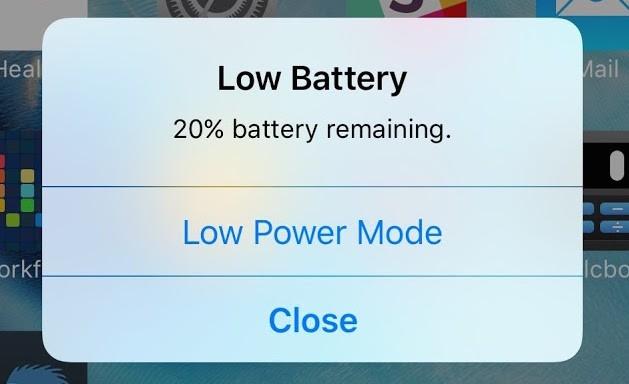 Что такое режим энергосбережения на айфоне?