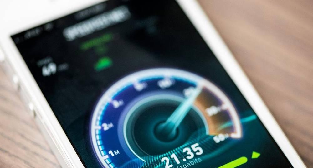 Как измерить скорость интернета на телефоне айфон