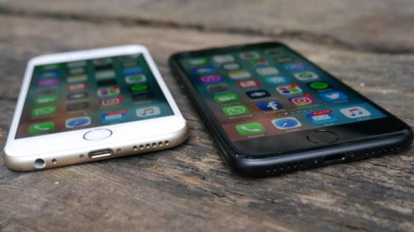 Cравнение айфон 6S и айфон 7