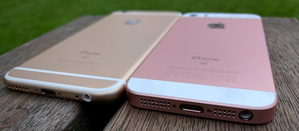 Чем отличается айфон SE от айфона 6S