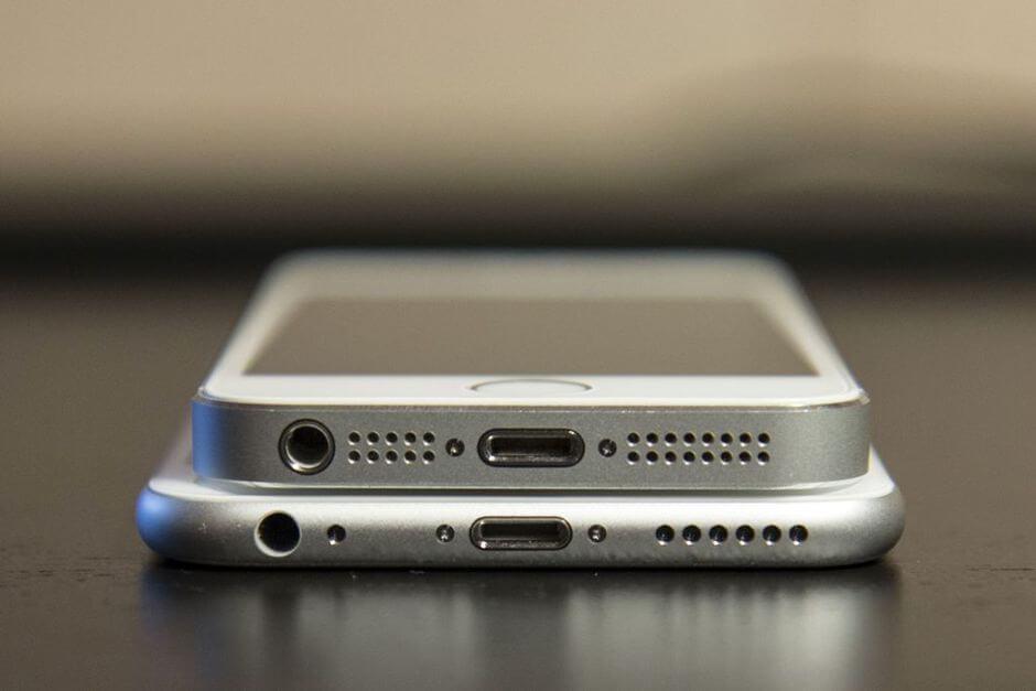 Чем отличается айфон 5S от 6?
