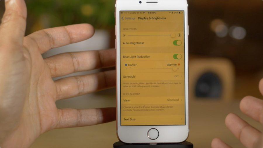 Что такое Найт Шифт в айфоне?