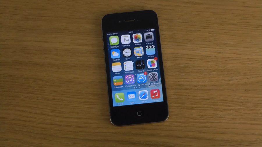ios 8 на iphone 4