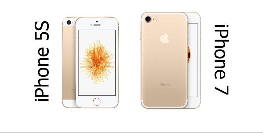 Айфон 5S VS Айфон 7