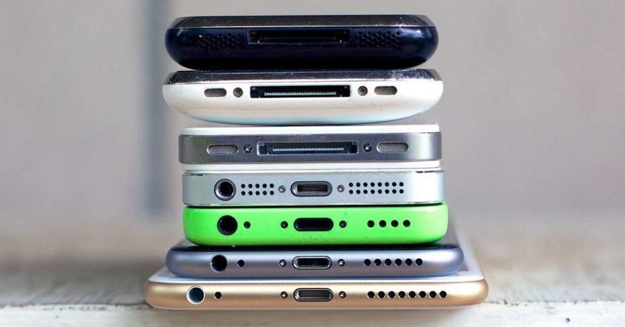 Разьем для зарядки на айфоне