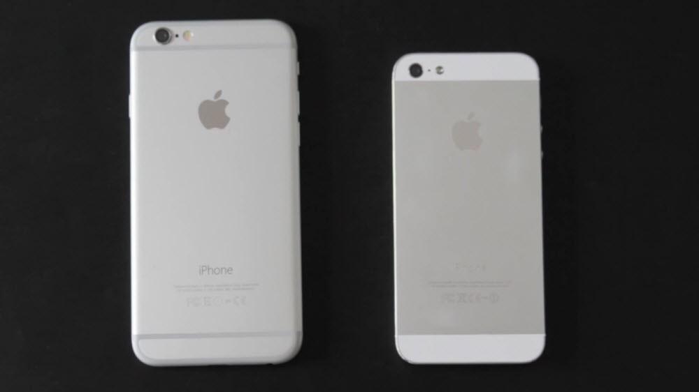 Сравнение камер и аккумулятор айфона 5 и 6