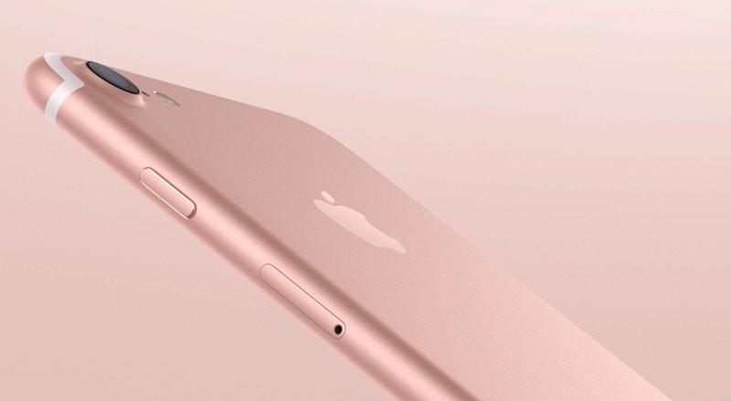 внешний вид между iPhone 5S и iPhone 7