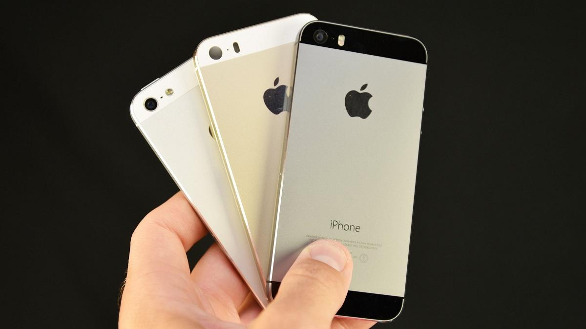 в каких цветах айфон 5s
