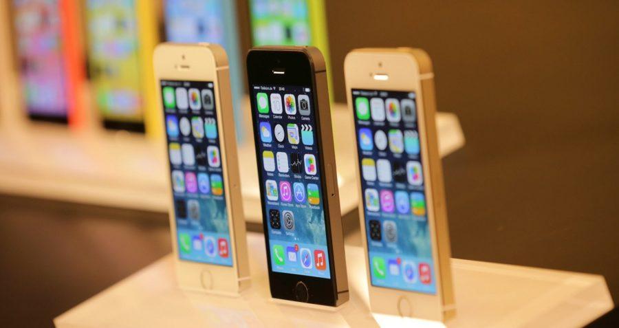 какие цвета у айфона 5s