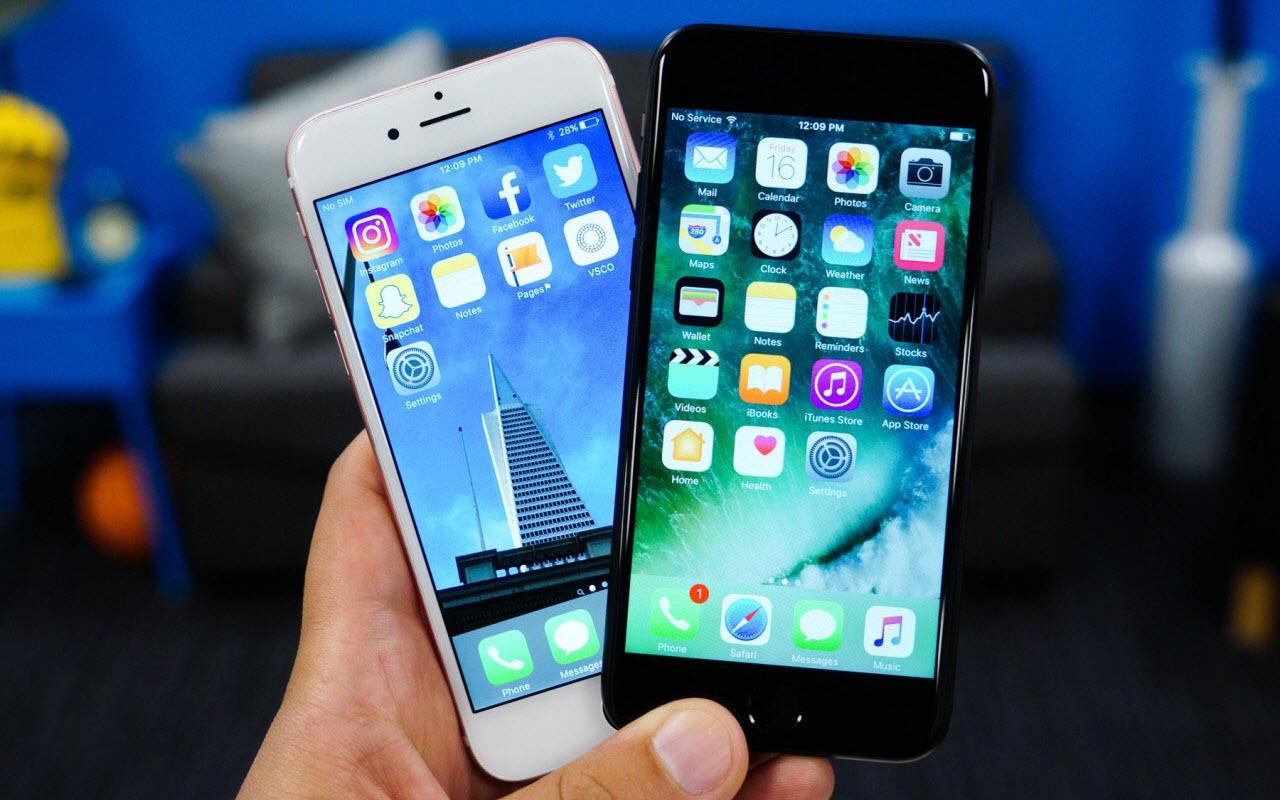 какой айфон лучше 6 или 7