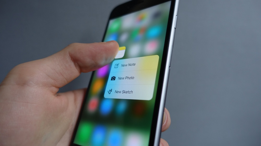 Не работает 3d touch в айфоне