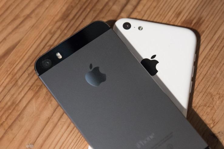 камера айфон 5C и айфон 5S