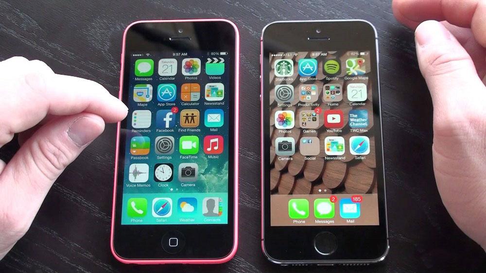 производительность iPhone 5S VS iPhone 5C