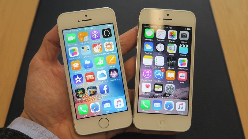 различие айфона 5 и 5s