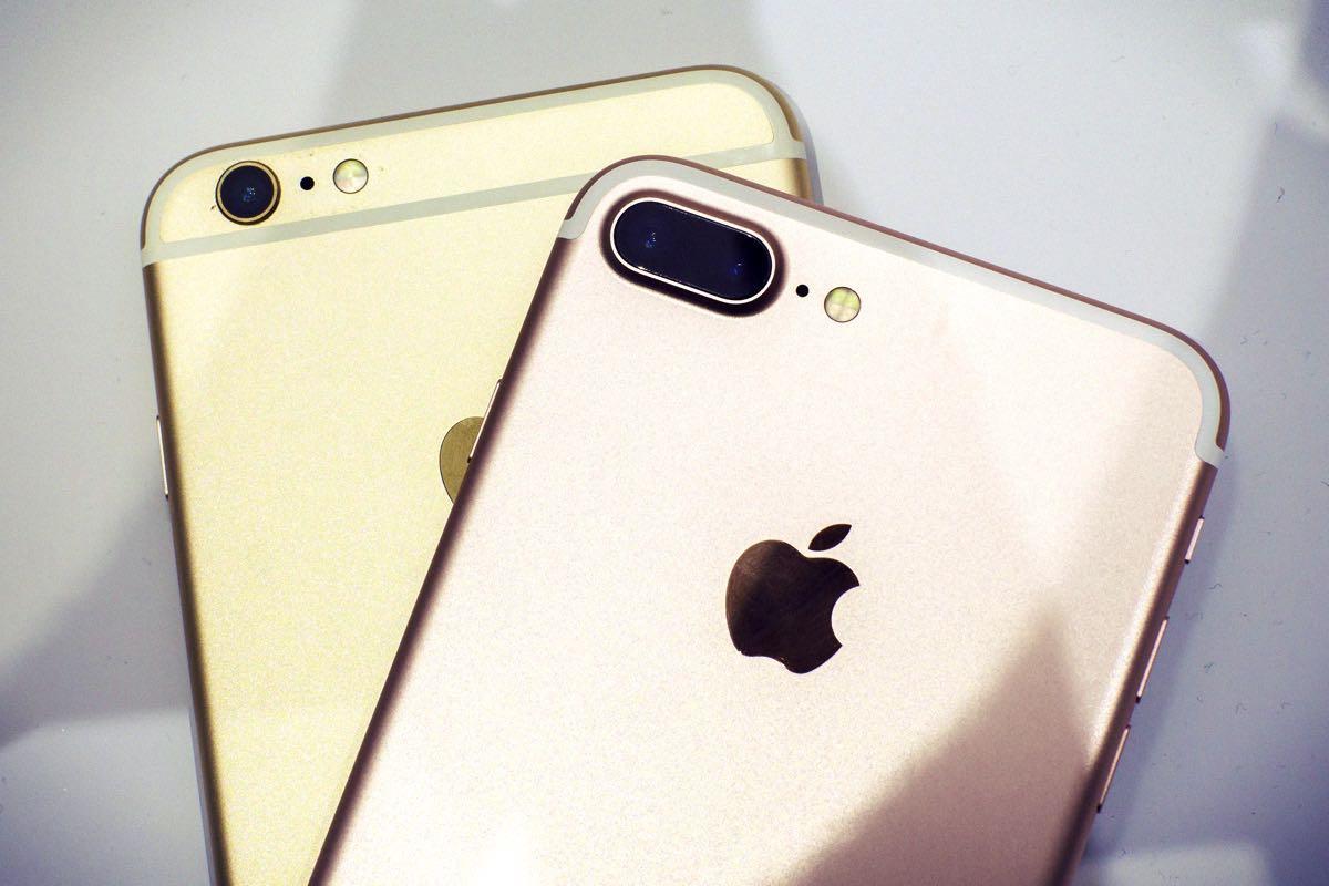 разница камере и аккумуляторе между iPhone 7 PLUS и iPhone 6S PLUS