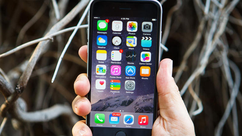 сделать прозрасной серую полосу на iPhone
