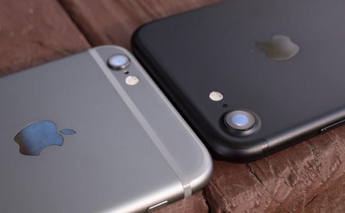 сравнение камеры и аккумулятора айфона 6 и айфона 7