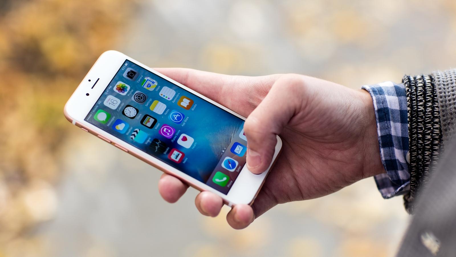 сравнение производительности iphone 6 и iphone 7