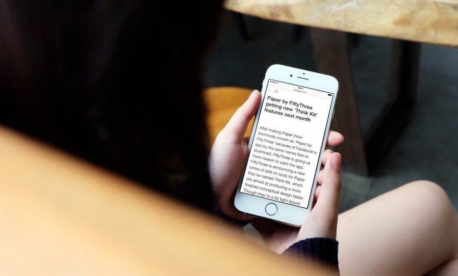 читать книги на айфоне