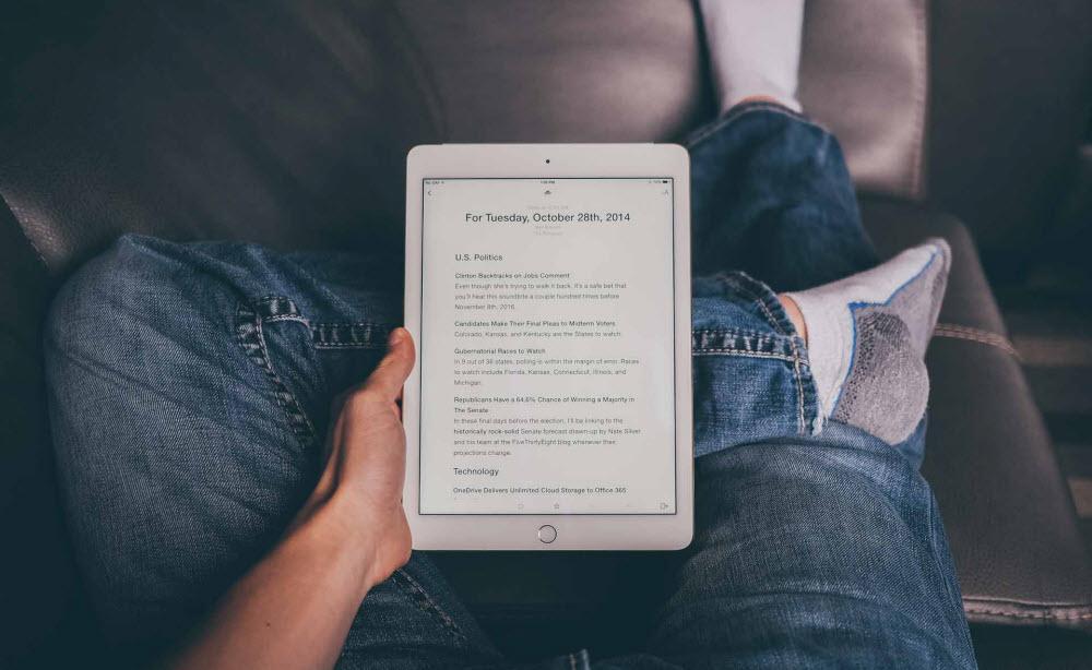 чтение книг на айфоне и айпаде