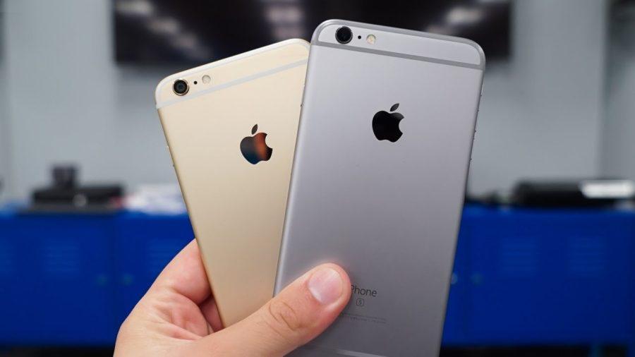 сравнение айфона 6 и 6s