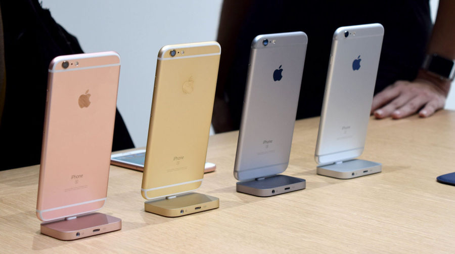 Colors of iPhone 6S and iPhone 6S PLUS