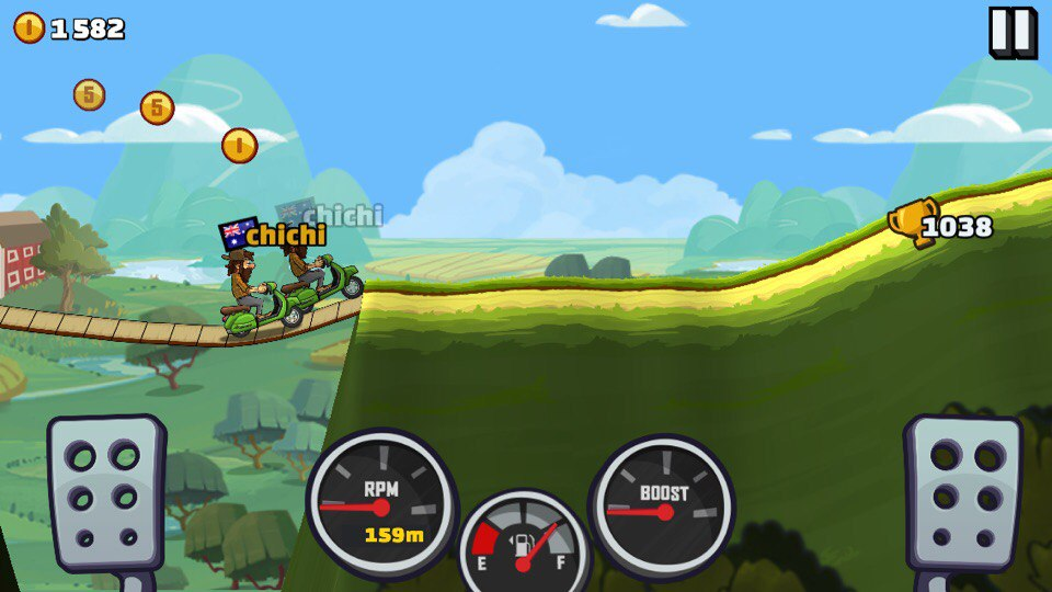 Hill Climb Racing 2 тень в режиме приключения